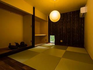 大工さんち 和風デザインの 多目的室 の murase mitsuru atelier 和風