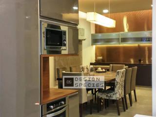 Modern Minimal Kitchen DESIGN SPECIES KitchenCabinets & shelves Beige