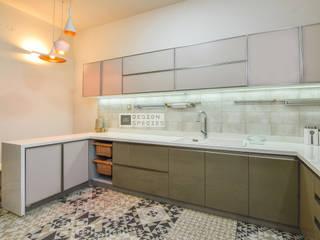 Modern Minimal Kitchen DESIGN SPECIES KitchenCutlery, crockery & glassware Beige