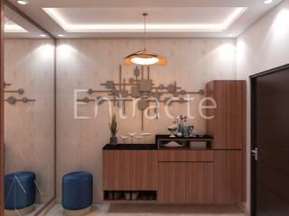 Rohan Avriti Asian style corridor, hallway & stairs by Entracte Asian