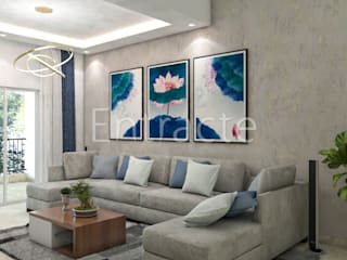 Rohan Avriti Asian style living room by Entracte Asian