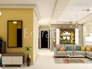 Prestige Lakeside Habitat - 12071 Modern corridor, hallway & stairs by Entracte Modern