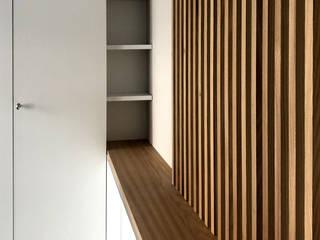 Ristrutturazione appartamento 50 mq - Roma Camera da letto moderna di Francesca Rubbi Architecture Moderno