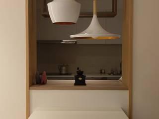 【每次洗完手都要擦拭檯面,擦得心都累了】 根據 品茉空間設計(夏川設計)