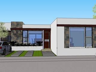CASA PARA ADULTOS EN GUANAJUATO CAPITAL Casas modernas de AVANZA ARQUITECTOS Moderno