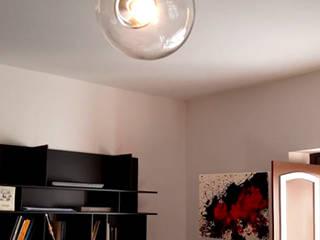 Restyling appartamento 180 mq - Rieti Sala multimediale moderna di Francesca Rubbi Architecture Moderno