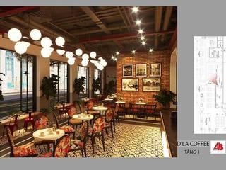 Thiết Kế Nội Thất Quán Cafe D'La Coffee bởi Thiết Kế Nội Thất - ARTBOX