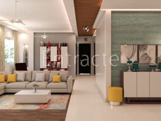 PLH 14232 Modern corridor, hallway & stairs by Entracte Modern