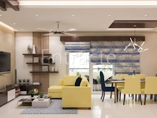 PLH Tower-6 Asian style living room by Entracte Asian