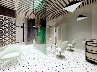 Klinika włosa od MALACHIT wnętrza Nowoczesny