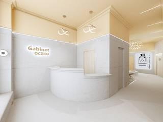 GABINET OKULISTY / KLINIKA OKULISTYCZNA od MALACHIT wnętrza Nowoczesny