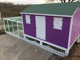 AĞAÇ EV MOBİLYA PEYZAJ LTD. ŞTİ. Garden Furniture Kayu Purple/Violet