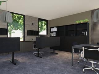 Office Design Moderne kantoorgebouwen van VAN VEEN INTERIOR DESIGN Modern