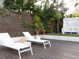 Home Staging Vivienda de lujo en Sitges Lala Decor HomeStaging & Reformas Integrales de pisos Piscinas Blanco