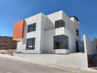 Casa Zibatá 2 F.arquitectos Casas minimalistas Concreto Blanco