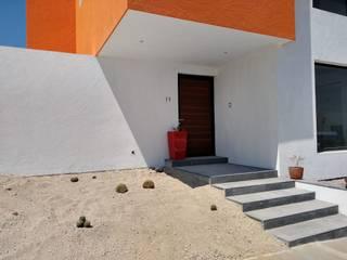 Casa Zibatá 2 F.arquitectos Casas unifamiliares Concreto Blanco