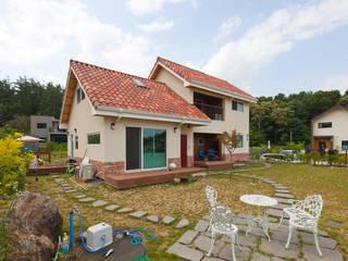 은퇴 후 취미를 즐길 수 있는 양평목조주택 COFFEE HOUSE by 위드하임 지중해