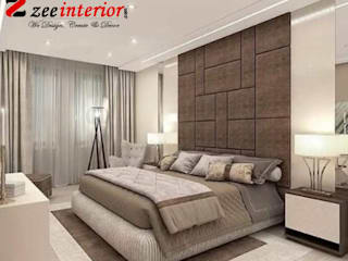 Best bed room interior designer in Patna: modern  by Zee interior,Modern