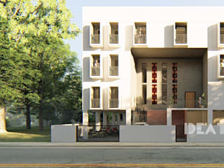 Co-Living Apartment Hostel Ideation Design