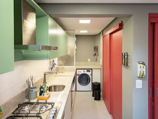Eclectic style kitchen by Ambientta Arquitetura Eclectic