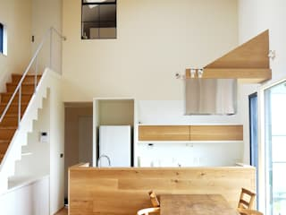 Mimasis Design/ミメイシス デザイン Minimalist kitchen