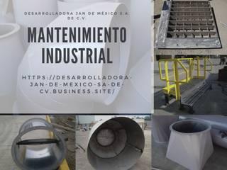 Mantenimiento Industrial:  de estilo industrial por Desarrolladora JAN de México S.A. de C.V., Industrial