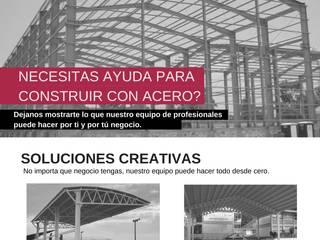 Necesitas Ayuda para Construir con Acero? de Desarrolladora JAN de México S.A. de C.V. Industrial