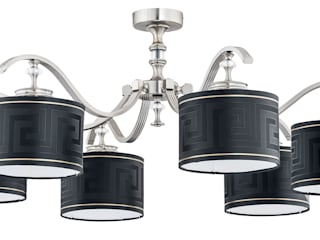 Bespoke Lighting Solutions for low ceiling Corredores, halls e escadas modernos por Luxury Chandelier Moderno