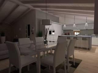 ROMAZZINO C.S. SERVICE SRL Moderne Wohnzimmer