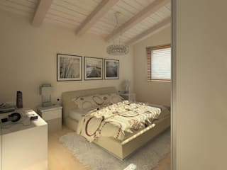 ROMAZZINO C.S. SERVICE SRL Moderne Schlafzimmer