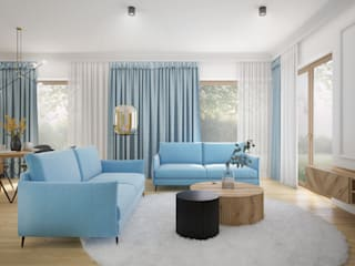 Nevi Studio Living room Blue