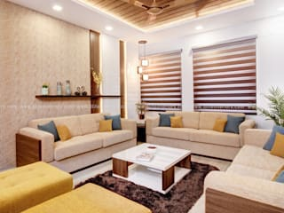 DLIFE Home Interiors 现代客厅設計點子、靈感 & 圖片