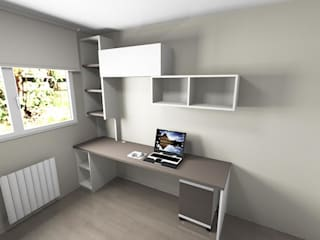 SERRANOS Studio Small bedroom Brown