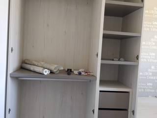 SERRANOS Studio Dressing roomWardrobes & drawers Engineered Wood Beige