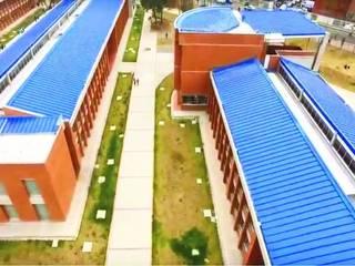 Colegio INEM de Kennedy Carlos Melo Arquitectos Jardines de estilo moderno