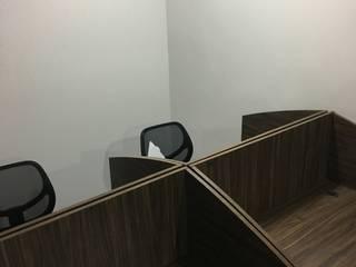Oficinas de Call Center | Grupo Sunset Cancún:  de estilo industrial por Zoraida Zapata / Diseño Interior, Industrial