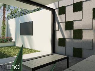 Modern houses by Arqland arquitectura y paisajismo Modern