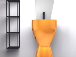 eto' Modern Bathroom Ceramic Amber/Gold