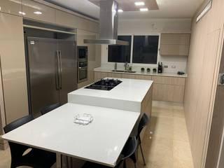 CelyGarciArquitectos Muebles de cocinas Tablero DM Beige