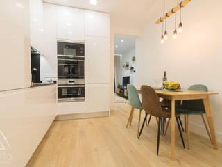 Byta Espacios Industrial style kitchen
