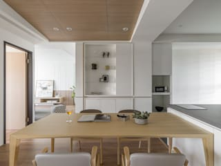 Scandinavian style dining room by 存果空間設計有限公司 Scandinavian