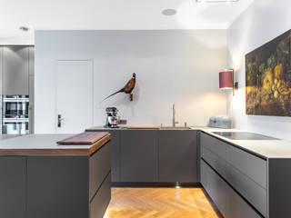 Tischlerei Artur Graumann GmbH Built-in kitchens Wood Grey