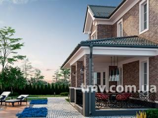 Классический двухэтажный особняк с гаражом TMV 114 от TMV Architecture company