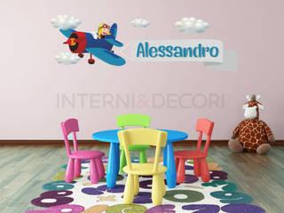 Adesivi murali per bambini di INTERNI & DECORI Moderno