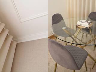 Apartamento R Matobra, S.A. Sala de estarBancos e cadeiras Transparente