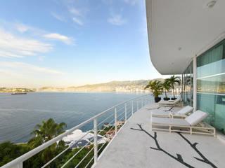 Casa en Acapulco de ArquiFoto Moderno
