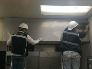 Instalación de Horno para Tienda de Autoservicio de MIC Multiservicios