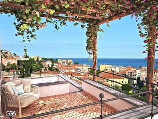 Balcon, Veranda & Terrasse rustiques par homify Rustique