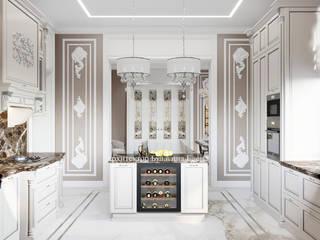 Архитектурное Бюро 'Капитель' Kitchen Marble Beige