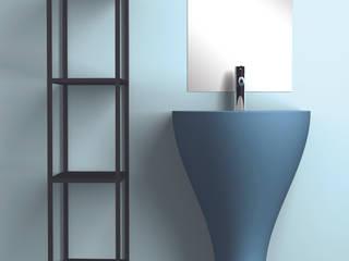 eto' Modern bathroom Ceramic Blue